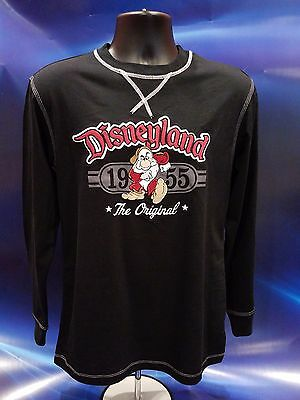 Disney Parks Disneyland 1955 The Original Grumpy Black L/S Shirt M NWT