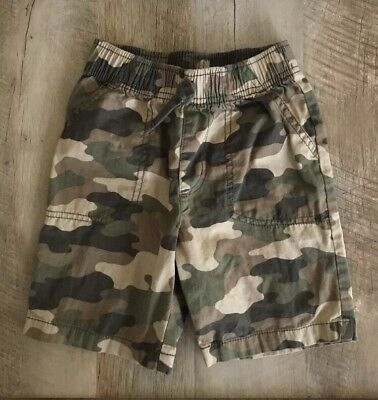 Jumping Beans Camp Shorts Boys 4t 100% Cotton