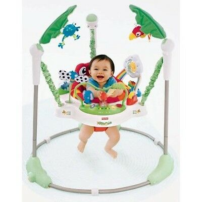 Fisher Price Rainforest Jumperoo up to 25 lbs