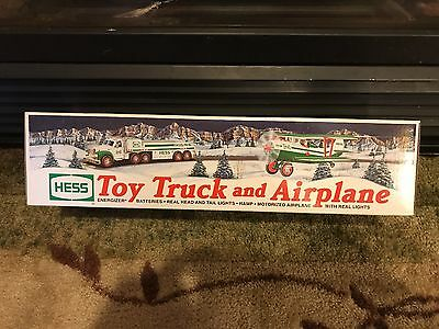 2002 Hess Toy Truck and Airplane BRAND NEW NEVER OPENED