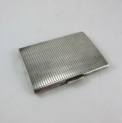 Antique German Sterling Silver Card Holder