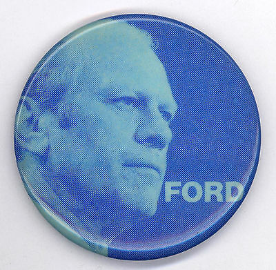 "* Fresh  ~  "" FORD ""  ~  1976 Campaign Button"
