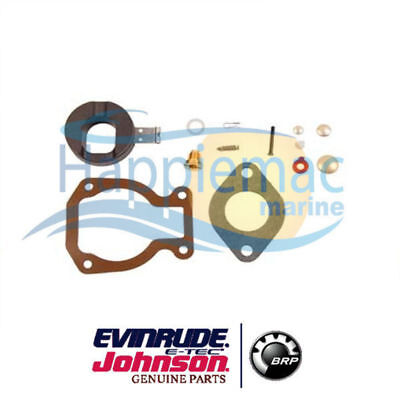Johnson Evinrude Brp Omc 398453 18-7223 Carburetor Kit With Float