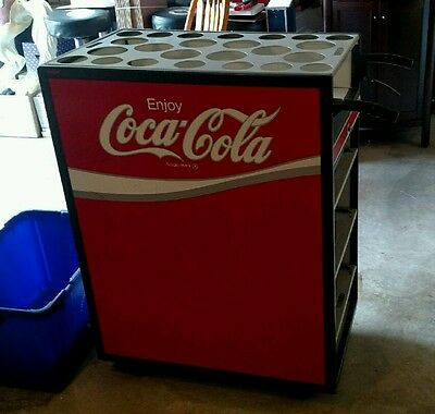 Coca Cola Bar Serving Cart with Cash Drawer. Hard to find piece.