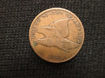 1858 Flying Eagle Cent Penny **nice!