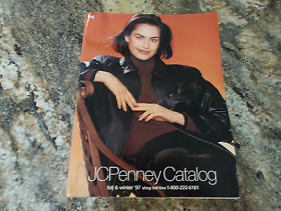 Vintage JC Penney Fall & Winter 1997 Department Store Catalog