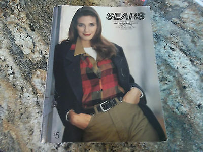 1992 - 1993 Sears Fall Winter Annual Catalog NICE CONDITION