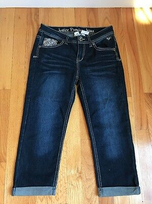Girls Justice Premium Jeans Size 14  Capri Style NWT NEW