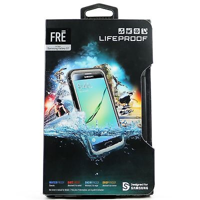 New LifeProof FRE SERIES Waterproof Case for Samsung Galaxy S7 - Black