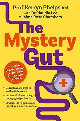 The Mystery Gut by Kerryn Phelps Paperback Book