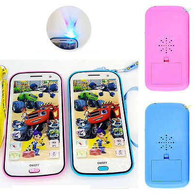 Blaze and the Monster Machines Sound and Light Touch Mobile Phone Toy Kids Gift