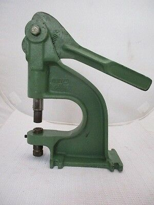 Vintage United Carr Industrial Rivet Grommet Eyelet Press Attaching Tool M369