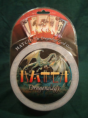 NEW!  MISB ~ HATCH Dragonology Card Game ~  Make Room on the Shelf!!!