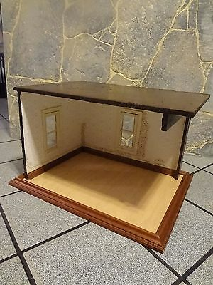 "Miniature Dollhouse Room Box 1/2"" Scale Project Room Box"