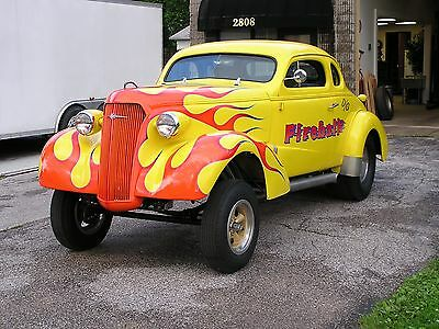 1937 Chevrolet Other  GASSER 1937 CHEVY CHOPPED TOP COUPE, HOT ROD, RACE CAR, DRAG CAR, RAT ROD