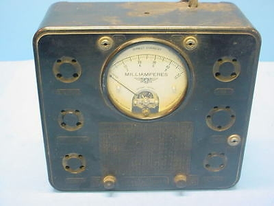 "Vintage 1930's TUBE TESTER CHECKER JEWELL PATTERN ""209"""