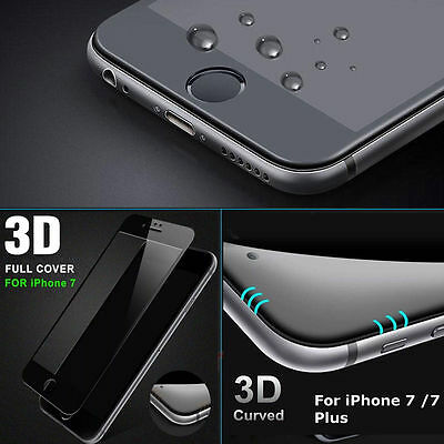3D Curved Full Tempered Glass Coverage Film Protector for Apple iPhone 6 6s Plus