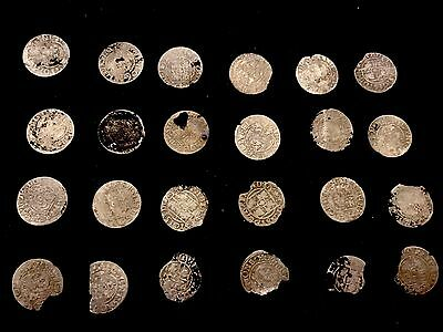 Ancient Medieval Silver Coins (24 Coins)