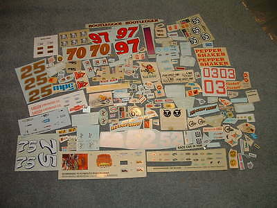 Lot #2 of Model Kit DECALS 1/24 - 1/25