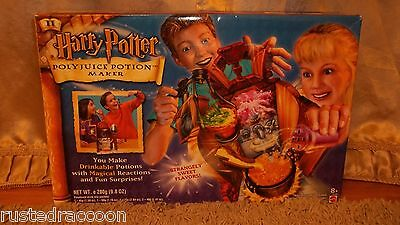 RARE Harry Potter Polyjuice Potion Maker NEW IN BOX! 2002 Factory Sealed MATTEL