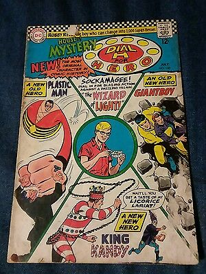 House Of Mystery #160 Gd 1St Silver Age Plastic Man Appearance Martian Manhunter