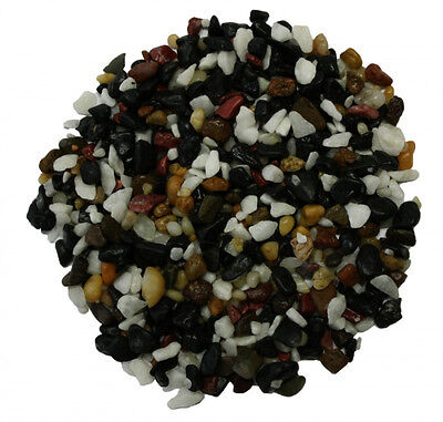 Aquarium Gravel 10kg 20kg 6-7mm Natural Multi