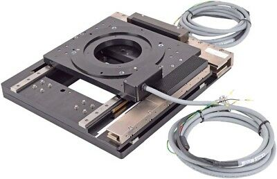 Primatics XY Positioning Rotary Open Frame Stage +Baldor NX0022A00 Linear Motor