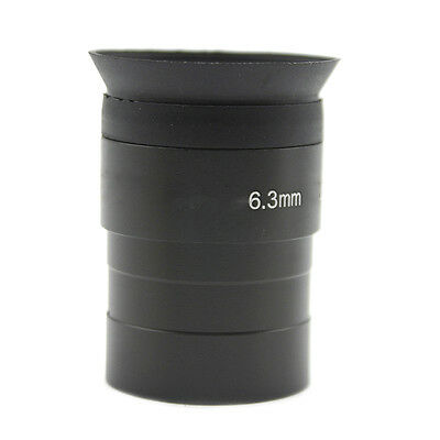 1.25inch 6.3mm Wide Eyepiece Fully Multi-coated ES For Telescope Black