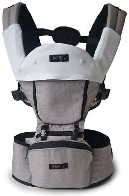 MiaMily Hipster Plus Baby Front Carrier (Stone)
