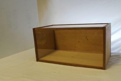 Wood and acrylic display case Lot 93