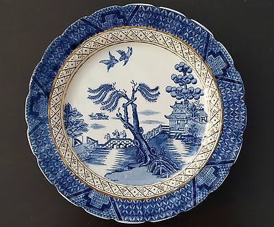 Booths Real Old Willow Plate - good condition