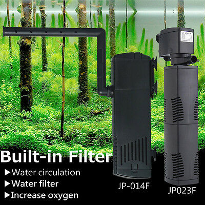 800L/h 1000L/h Filtre Interne Pompe à eau Submersible Aquarium Eau Filtration