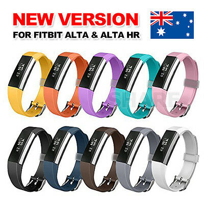 Wireless  Replacement Band Bracelet Wristband Large Small for Fitbit Alta HR AU