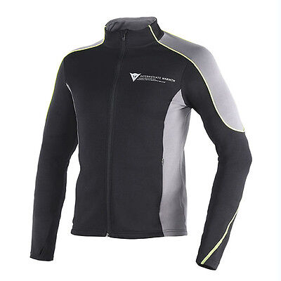 Dainese D-Mantle Black / Anthracite / Fluo Yellow Base Layer Jacket | All Sizes
