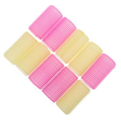 10Pcs Self Grip Hair Roller Home Salon Hairdressing Styling Curlers Set