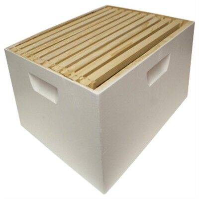 Harvest Lane Honey WWBCD-101 Deep Brood Box with 10 Frames & Foundations