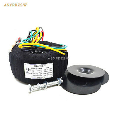 200VA Black cloth toroidal transformer 200W NAP140 amplifier dedicated 28V-0-28V