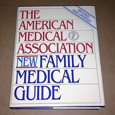 1994 The American Medical Asociation New Family Medical Guide Hb Book