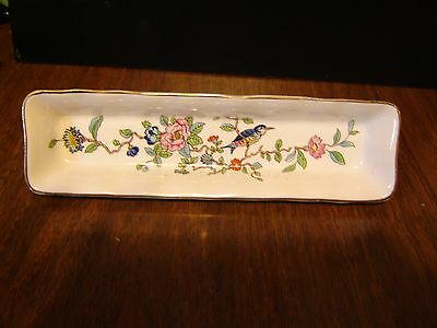 Aynsley England Pembroke Mint Dish or Condiment Dish Tray 8 1/2""