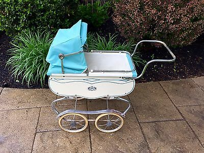 VINTAGE 1950s CORONET BABY DOLL BUGGY CARRIAGE PRAM