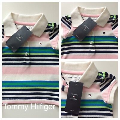 Baby Girls Clothes/ Pretty Girls New Tommy Hilfiger Top 3/6 Months