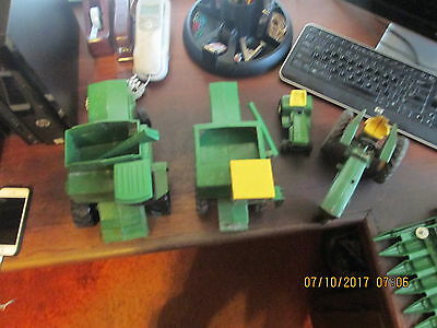 John Deere Tractor Toy Lot for Parts and Restoration