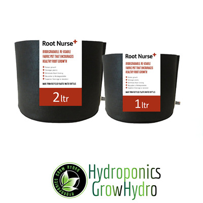 NEW Root Nurse; biodegradable, re-usable fabric plant pots - recycled materials