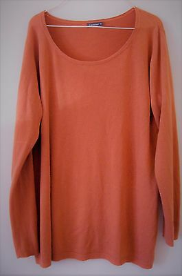 Pull - In Extenso- orange pour Femme, taille XXL