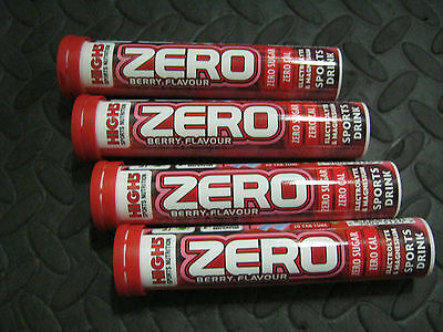 80 x HIGH5 ZERO Hydration TABLETS Drinks Tabs BERRY Flavour 4 x 20 Tab Tubes
