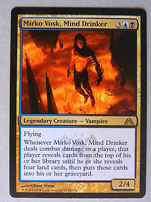 XXX 1x MIRKO VOSK, MIND DRINKER englisch dragon's maze (flying vampire) NM/MINT