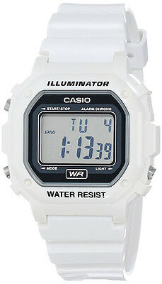 Casio Unisex Resin Case Grey Dial Digital Display 30m Classic Watch F108WHC-7A