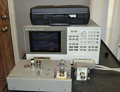 Agilent 4291A RF Impedance/Material Analyzer 1MHz-1.8GHz w/Accessories, options