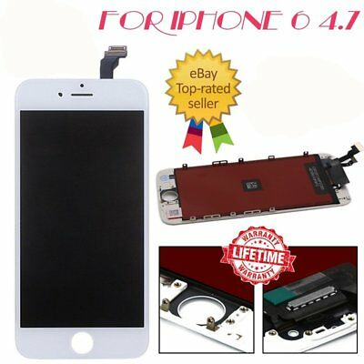 """For iPhone 6 4.7"""" Screen LCD Touch Replacement Display Assembly Digitizer White"""