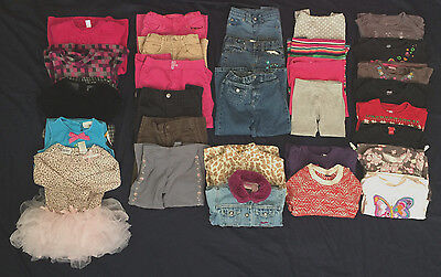 Baby Girl 4T Fall/Winter Mixed Clothes Lot!!!
